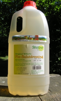 Willerts Fix Salatdressing - 2 Liter