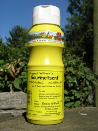 Original Willerts Gourmetsenf - 500 ml Flasche